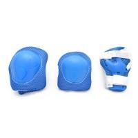 Защита для детей (наколенники, наладонники, налокотники) SkateX Protection S-M синий